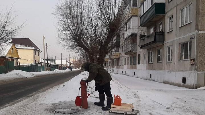 В Кургане из-за морозов замёрзли 52 водоразборные колонки
