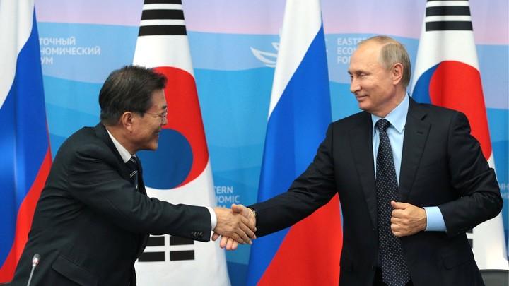 Мун Чжэ Ин: Владимир Путин смелый, как амурский тигр