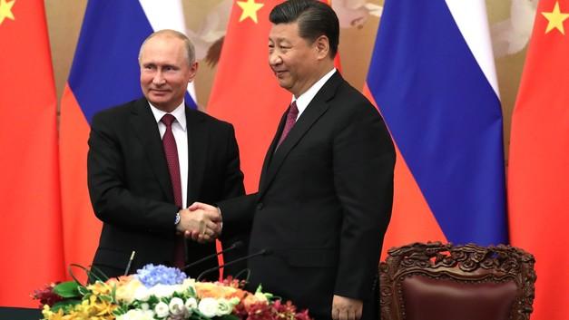 МИД Китая рассказал о подаренных Путиным Си Цзиньпину сибирских сладостях