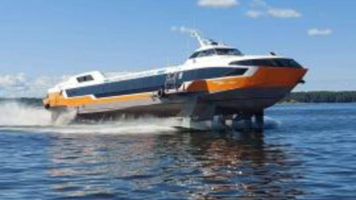 В Нижнем Новгороде спустили на воду Метеор нового поколения