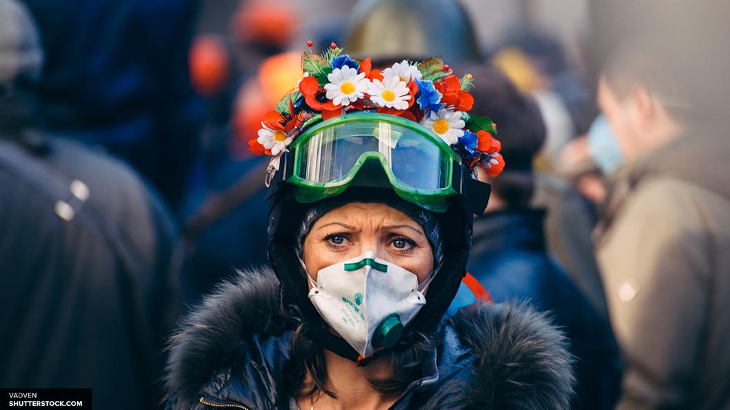 Под окнами Минсоцразвития Украины митингуют 300 человек
