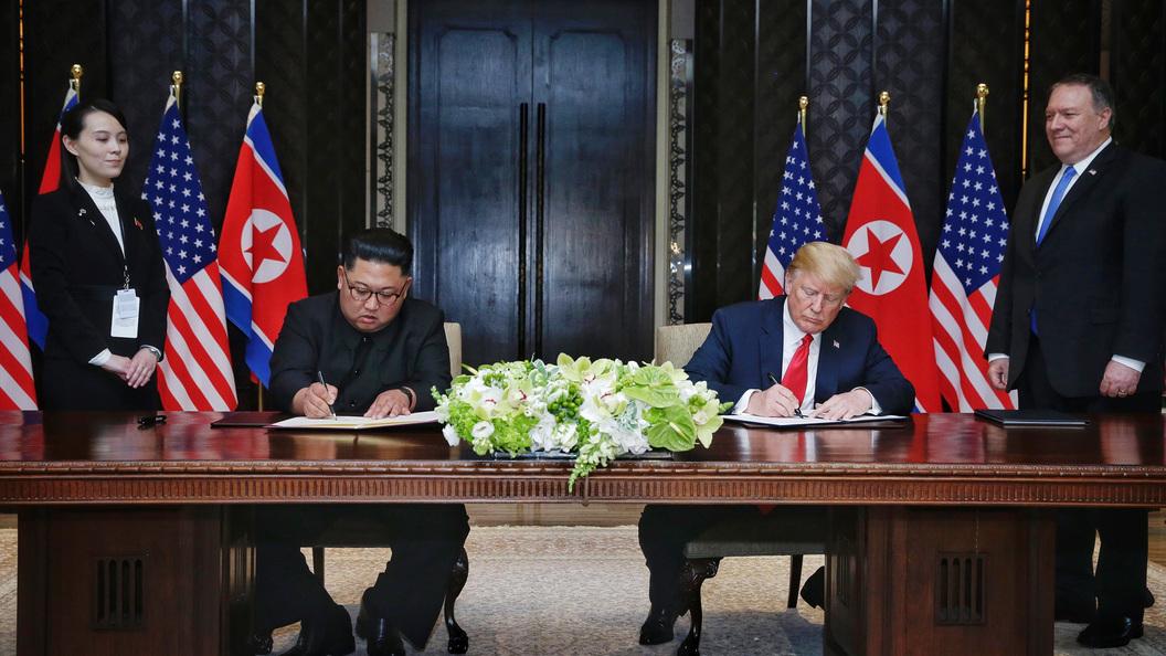 Ким Чен Ынпринял приглашение Трампа посетить США