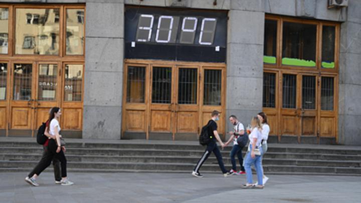 МЧС предупредило об аномальной жаре в Новосибирской области
