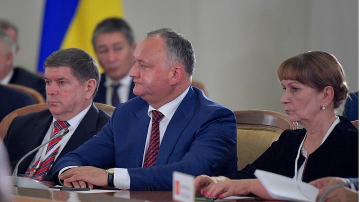 Спустя пару часов после письма о покушении Игорь Додон попал в ДТП