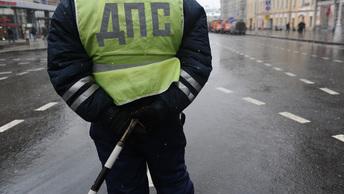 Объезд змейкой массового ДТП под Подольском сняли с высоты птичьего полета