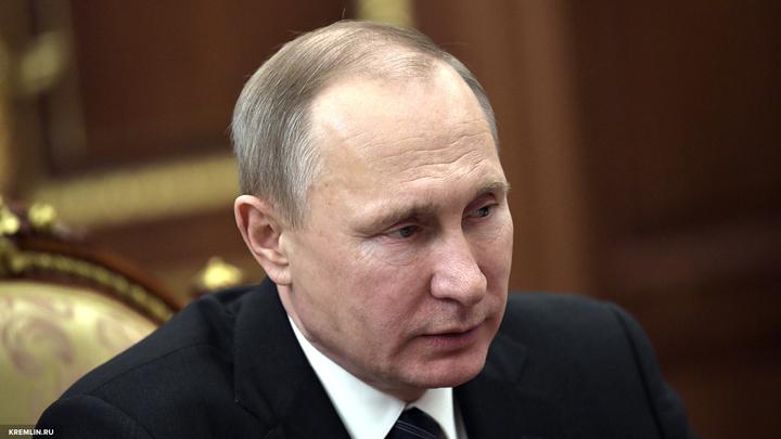 Путин надеется хотя бы на стремление российских футболистов к победе