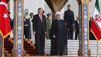 Турция и Иран создают альянс против курдов, США и Израиля