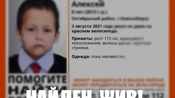 В Новосибирске нашли пропавшего 8-летнего мальчика