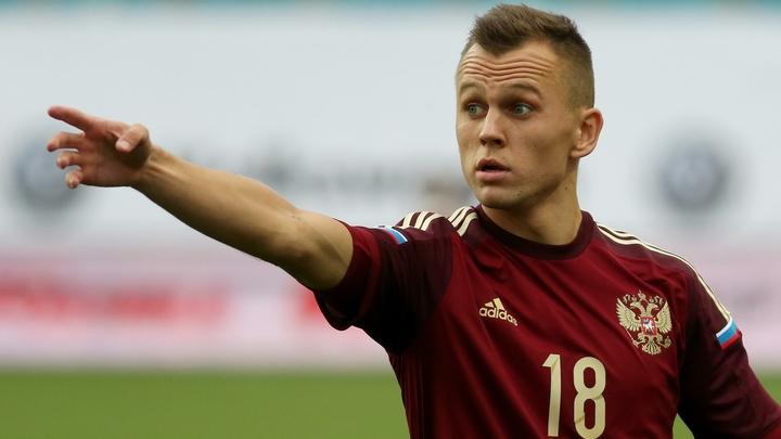 Черышев прибыл в расположение сборной России