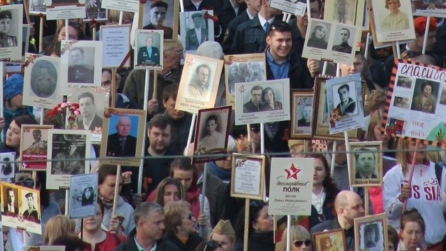 «Бессмертный полк» установил рекорд: В шествии в Москве участвует более миллиона человек