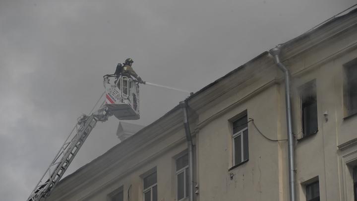 Взрыв в жилом доме в Москве: Фото с места