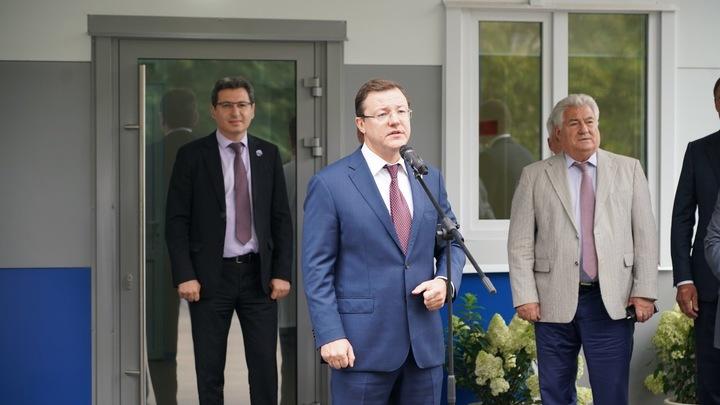 В Самаре открылся новый корпус ковид-госпиталя в областной клинической больнице Середавина