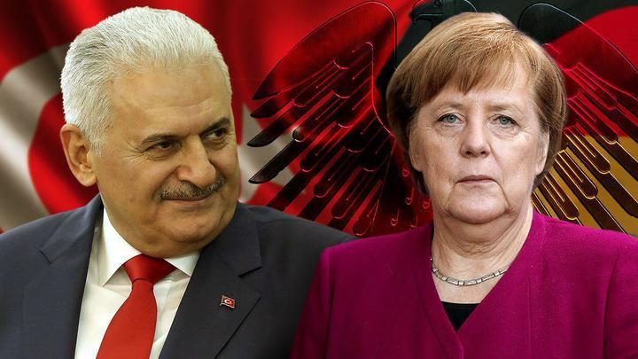 Эрдоган метнул в Меркель Молнией