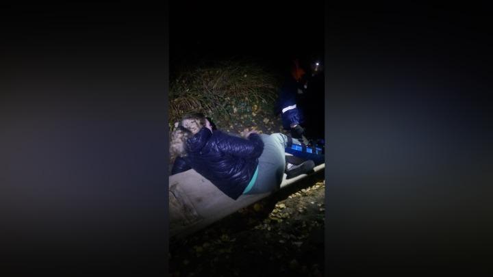 На Лысой горе в Кузбассе женщина получила серьезную травму