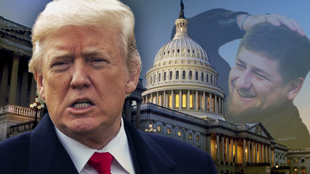 Трампу подложили свинью по имени шатдаун и позволили Кадырову поиздеваться над США