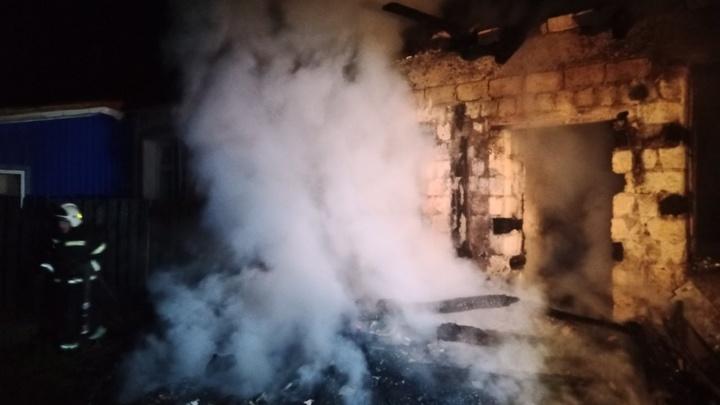 В Гусь-Хрустальном районе на пожаре погиб мужчина