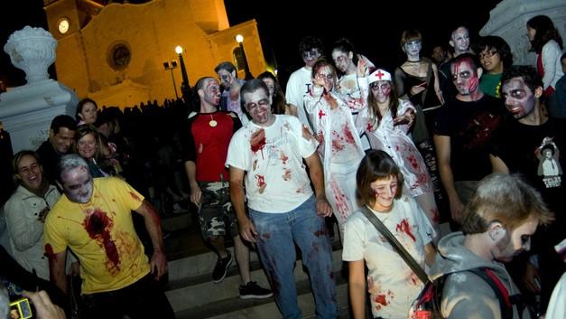 Призывы Русской Церкви остановили массовое шествие зомби в Перми
