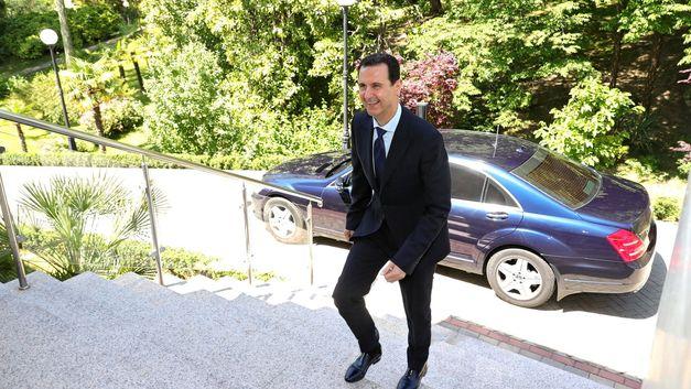 Расширим сотрудничество: Башар Асад намерен лично встретиться с главой Абхазии
