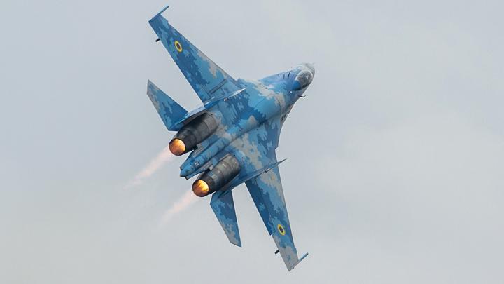 «Чистое небо - 2018» закрыл дым: Рухнувший Су-27 разбил мечты Порошенко о сильной авиации