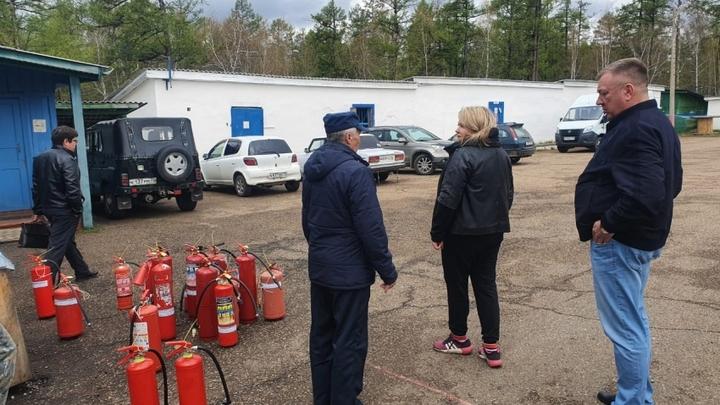 Детские лагеря в Забайкалье не обеспечили противопожарную безопасность