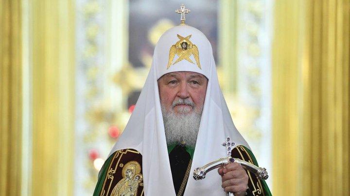 Патриарх Кирилл произнёс проповедь в праздник Вознесения Господня