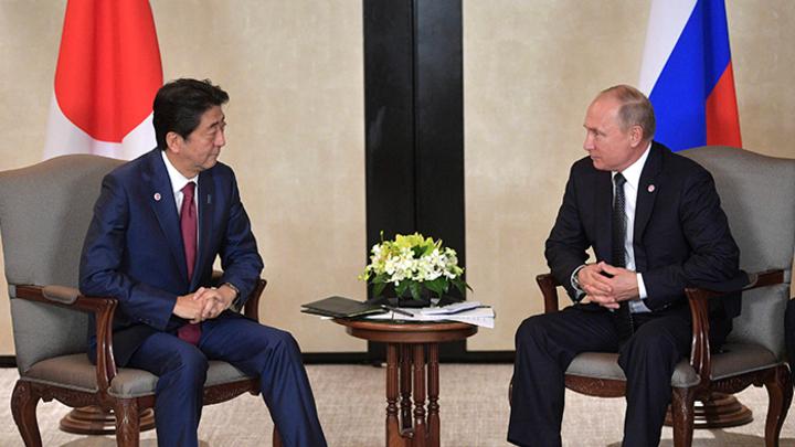 «Ой, мама, Хабомаи, Шикотан»: Абэ попросит у Путина два острова