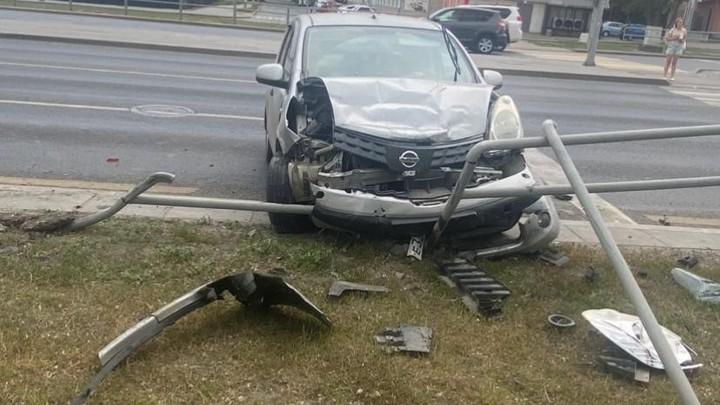 В Самаре 4 человека получили травмы в ДТП на Московском шоссе