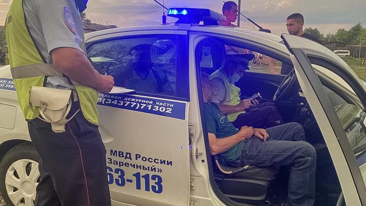 Пьяный водитель 50 метров протащил ребенка под днищем машины на Урале