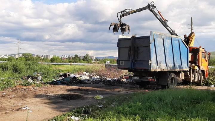 Жители Читы продолжают загрязнять город отходами своей жизнедеятельности