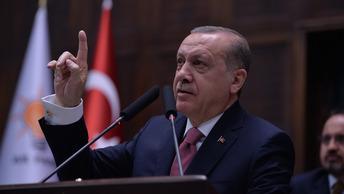 Эрдоган странно успокоил шестилетнюю воительницу - видео