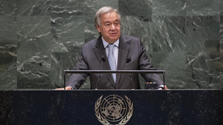 Генсек ООН указал на особую жестокость пандемии COVID-19