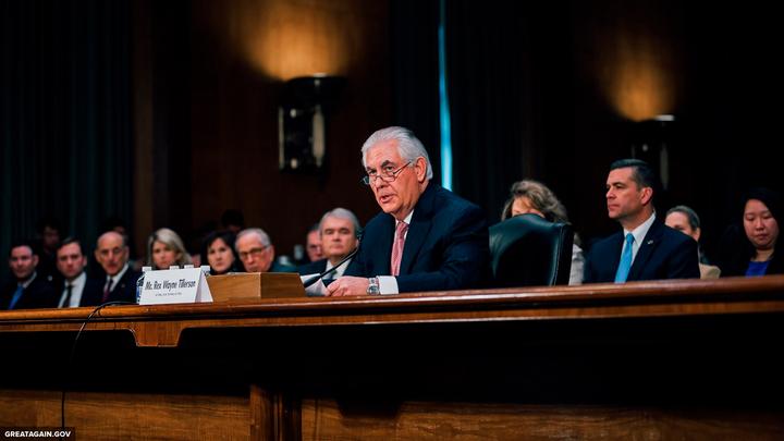 Тиллерсон не стал называть отставку Асада первостепенной задачей США в Сирии