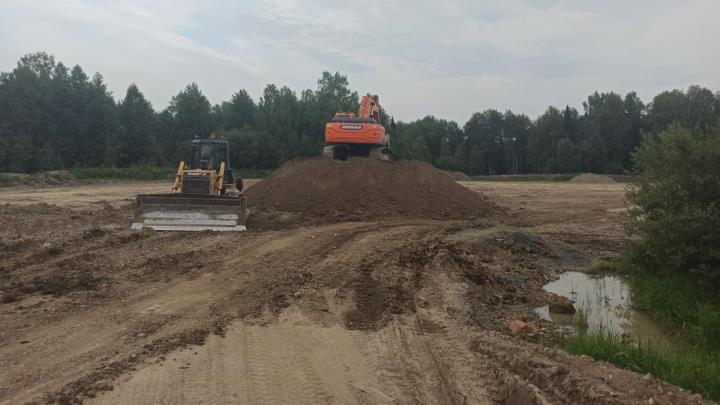 В Кузбассе велось незаконное строительство асфальтного завода в природном заказнике