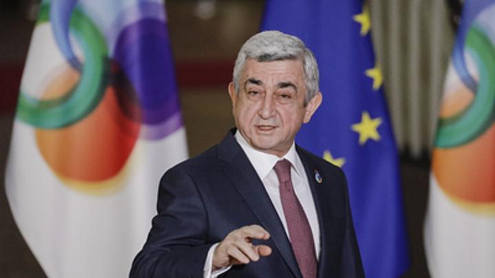 Саргсян вызвал оппозицию на немедленный диалог