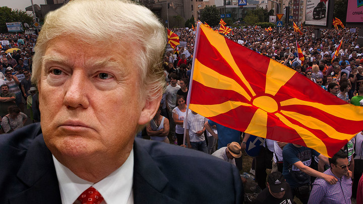 Дональд Трамп против неолибералов Македонии