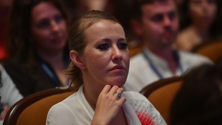 Участники митинга в Петербурге освистали Собчак