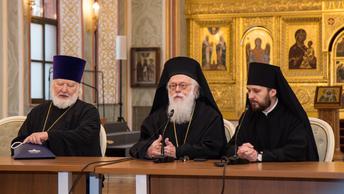 Предстоятель Албанской Православной Церкви посетил Свято-Тихоновский университет