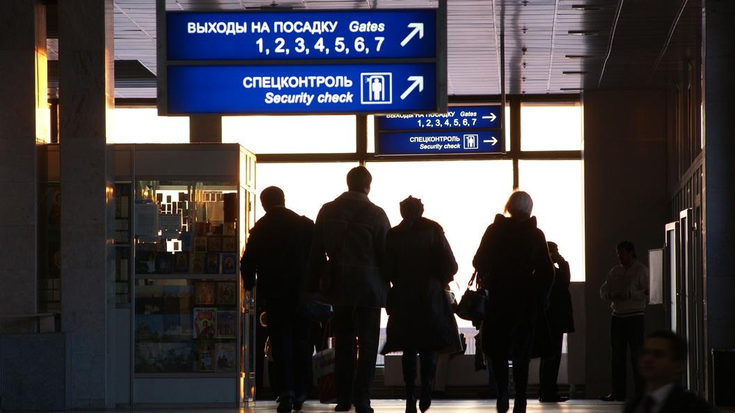 ВШереметьево задержали британскую учительницу сгранатой