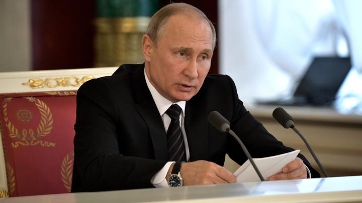 ЦИК дал разрешение на открытие избирательного счета Владимира Путина