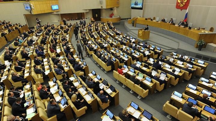 Депутаты до 3 мая представят закон о санкциях против США Владимиру Путину