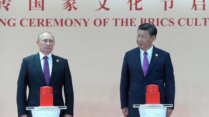Встреча Владимира Путина и Си Цзиньпина состоится в начале июня