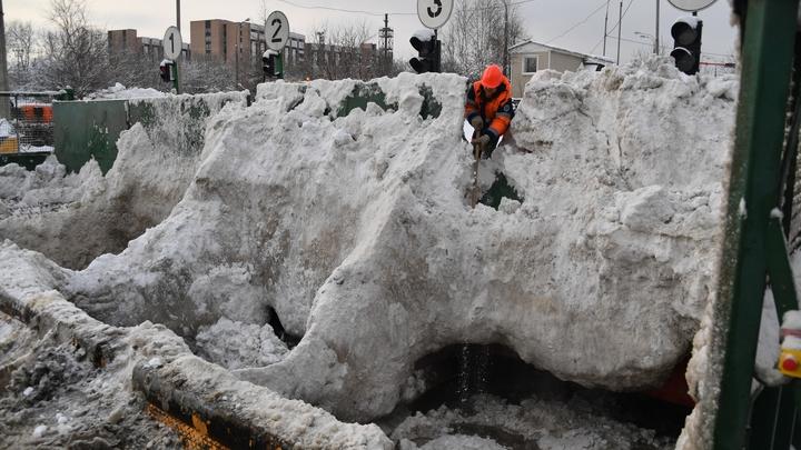 Объем выпавшего снега в Москве достигнет двух метров