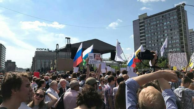 «У КПРФ и то гуще вышло»: «Митинг миллионов» либертарианцев в Москве недосчитался миллионов