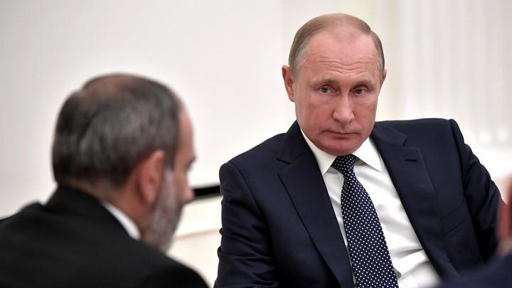 Назначена дата переговоров Путина и Пашиняна