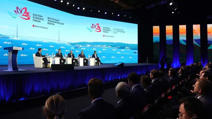 Первый день ВЭФ может «расширить границы» возможностей Дальнего Востока