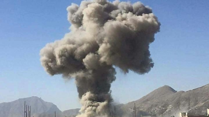 Взрыв в Джелалабаде: Ранено четверо