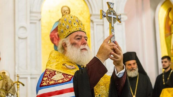 Патриарх Александрийский Феодор II: Митрополит Онуфрий — глава канонической Церкви Украины, благословенный от Бога