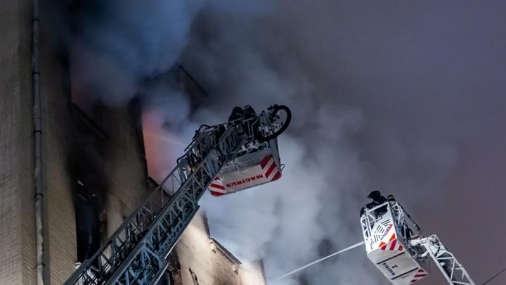50 человек спасли из горящей девятиэтажки в Железноводске