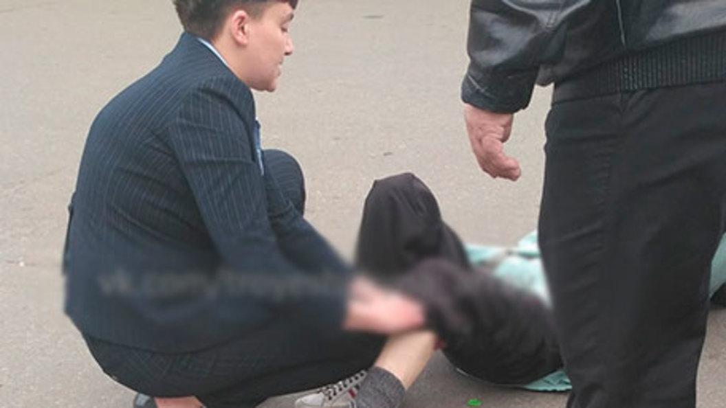 В Киеве автомобиль Надежды Савченко сбил бабушку - понадобилась госпитализация