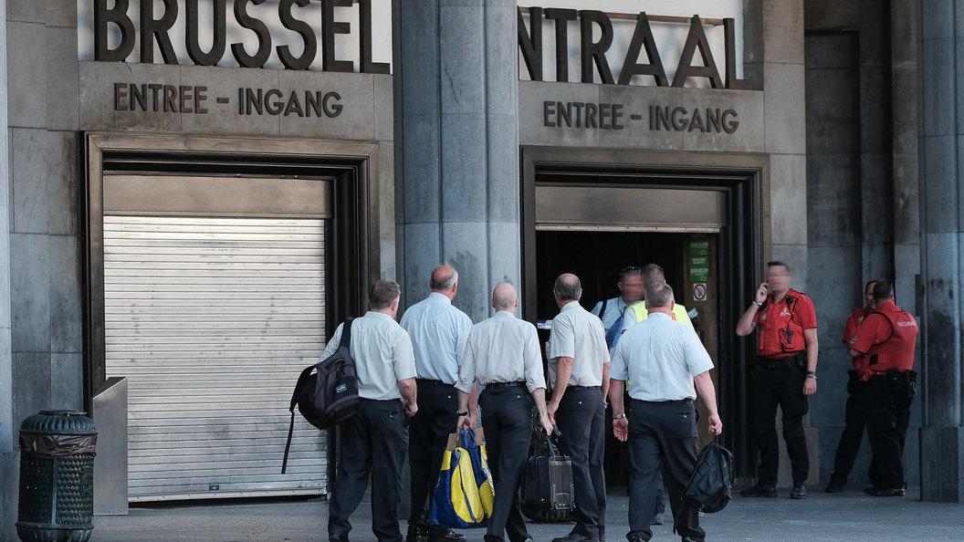 Взрыв вБрюсселе: милиция проводит обыски вкоммуне Моленбек